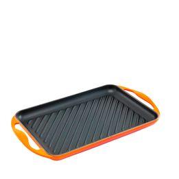 Grelha-de-ferro-Le-Creuset-laranja-32-x-22-cm---13885