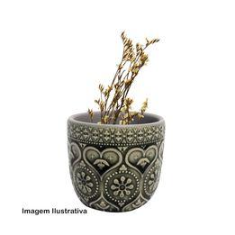 Cachepot-Mini-Hearts-Flower-Cinza-Ceramica-7x7CM---29735