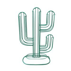 Porta-Capsulas-de-Cafe-Cactus-Verde-Metal-34X22CM---29741