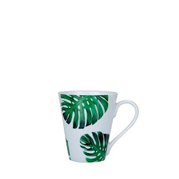 Caneca-Naomi-Porcelana-Flor-Verde-Escuro-330ML---29916