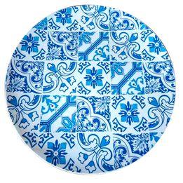 Sousplat-de-plastico-Indigo-Portuguese-azul-33-cm---21332