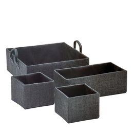 Cesto-Organizador-Tecido-Preto-4-Pecas---30174