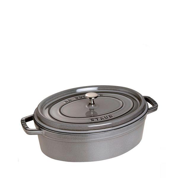 Cacarola-de-Ferro-Staub-Oval-Grafite-17CM---30200