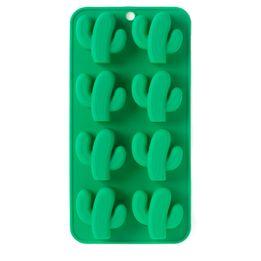Forma-de-Gelo-Cactus-Silicone-Verde-21X11CM---30263