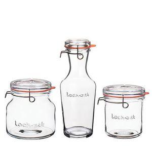 Jarra-Pote-Vidro-Luigi-Bormiolli-Lock-Eat-15L-1L-750ML-3-Pecas---30876