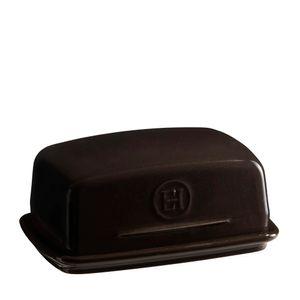 Manteigueira-Emile-Henry-Ceramica-Preto-17X12CM---30993