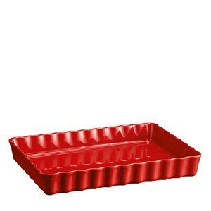 Travessa-Emile-Henry-Ceramica-Canelada-Vermelho-34X24CM---30984