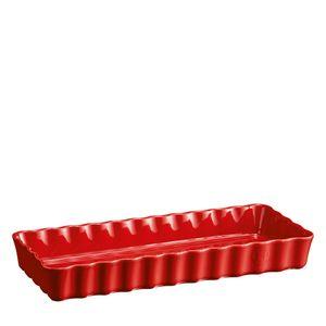 Travessa-Emile-Henry-Ceramica-Canelada-Vermelho-36X15CM---30981