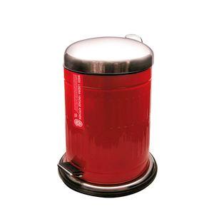 Lixeira-Vintage-Week-Metal-Vermelho-5L---14680