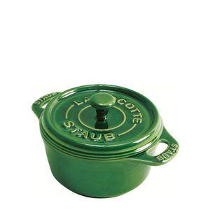 Mini-Cocotte-de-Ceramica-Staub-Verde-Basil-10CM---14119