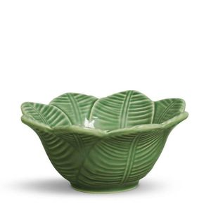 Bowl-Porto-Brasil-Leaves-Verde-Salvia-Ceramica-372ML---31348