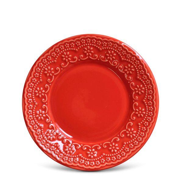 Prato-Sobremesa-Porto-Brasil-Madeleine-Vermelho-Ceramica-20CM---31362