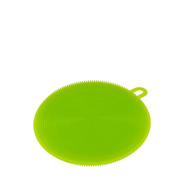 Esponja-Multiuso-Weck-Redonda-Silicone-Verde-11CM---31760