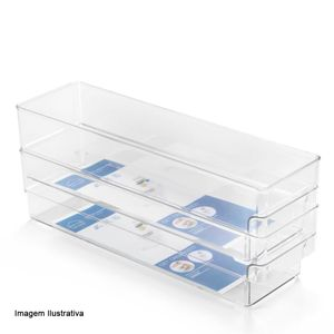 Organizador-CasaMax-Clear-Multiuso-Empilhavel-37X10X10CM---31885