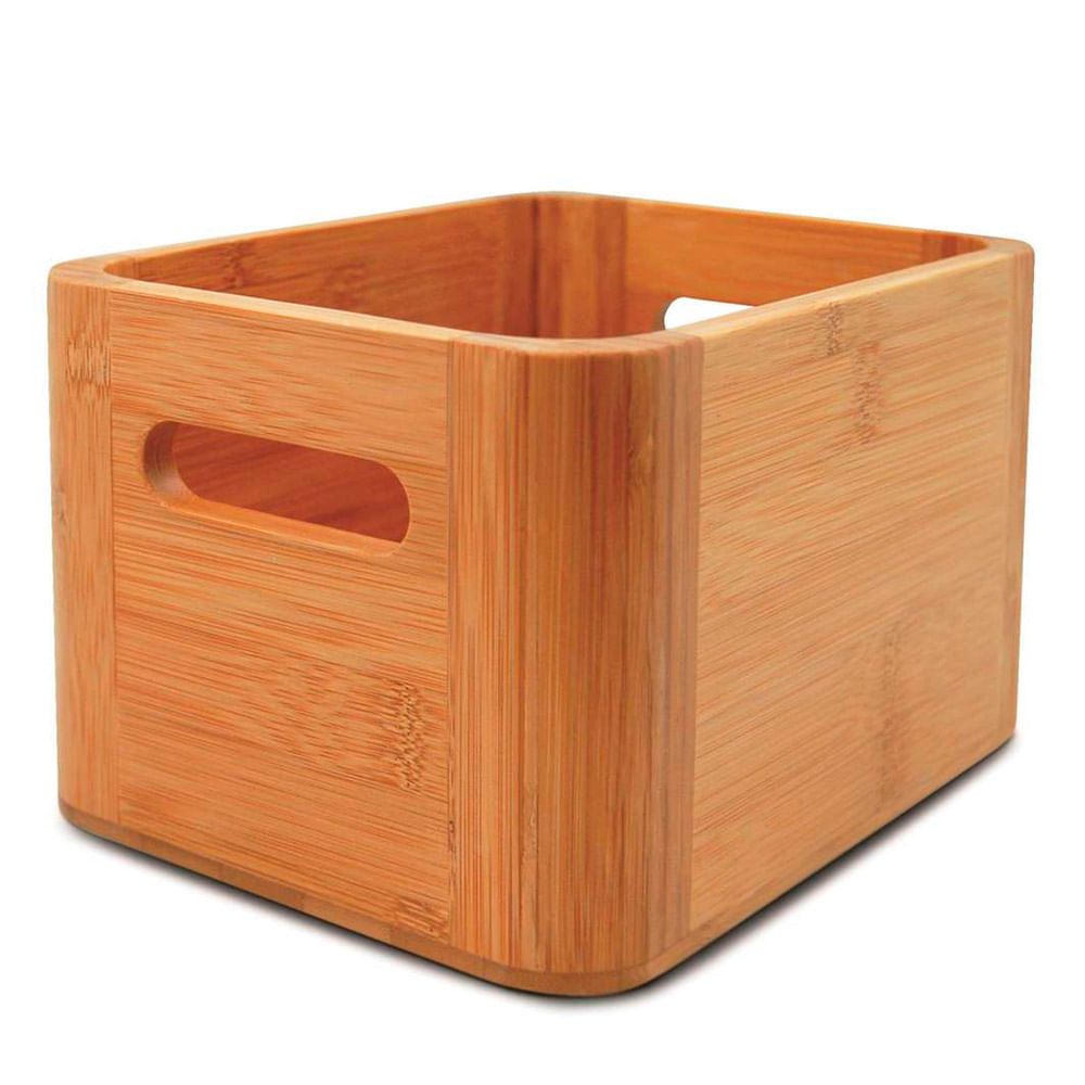 Porta Sorvete de Bambu 19X14X12CM