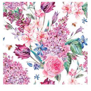 Guardanapo-de-Papel-Flower-White-20-Pecas-33CM---32041