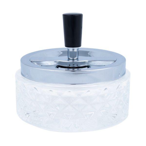 Cinzeiro-Losango-Transparente-Vidro-12X10CM---21377