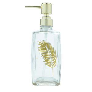 Porta-Sabonete-Liquido-Gold-Leaf-Vidro-500ML---32130