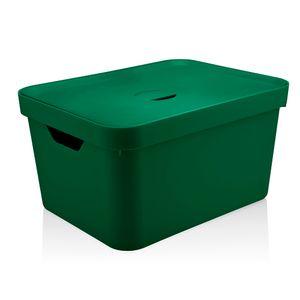 Cesta-Organizadora-Cube-OU-Verde-Escuro-com-Tampa-45X35X24CM---32242