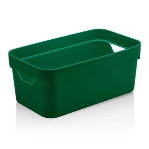 Cesta-Organizadora-Cube-OU-Verde-Escuro-29X16X12CM----32236