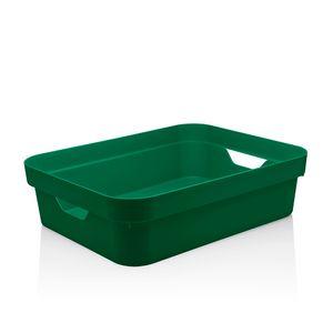 Cesta-Organizadora-Cube-OU-Verde-Escuro-29X21X9CM---32235