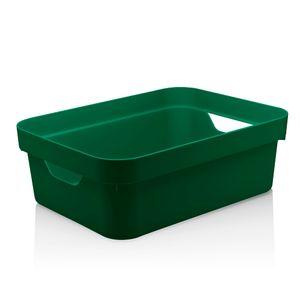 Cesta-Organizadora-Cube-OU-Verde-Escuro-36X26X13CM---32238