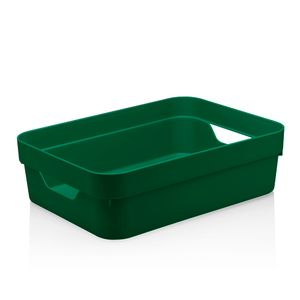 Cesta-Organizadora-Cube-OU-Verde-Escuro-45X35X13CM---32240
