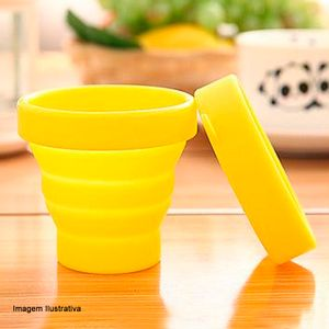 Copo-Eco-friendly-Silicone-Retratil-com-Tampa-Amarelo-150ML---32268