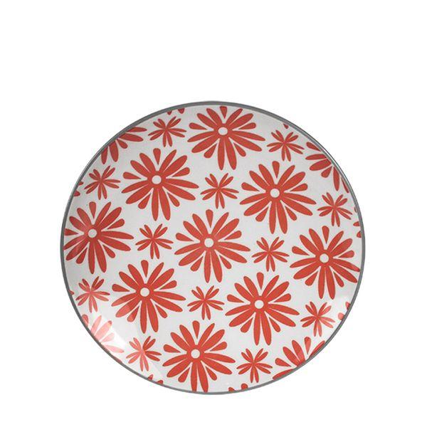 Prato-Sobremesa-Porcelana-Rosa-e-Branco-18CM---32323