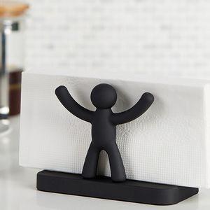 Porta-guardanapo-de-plastico-Buddy-Umbra-preto-15-x-105-cm---3030966