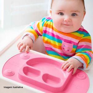 Prato-Infantil-Smile-Silicone-Rosa-32X19CM---32563