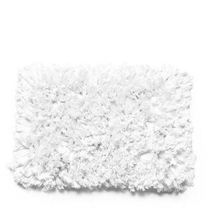 Tapete Satara Microfibra Branco 70X120CM - 32605