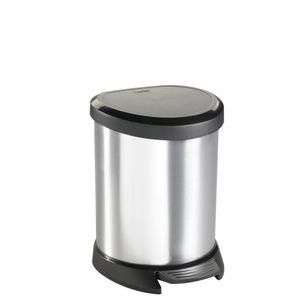 Lixeira-Curver-Metalizada-Pedal-Redondo-5L---33008