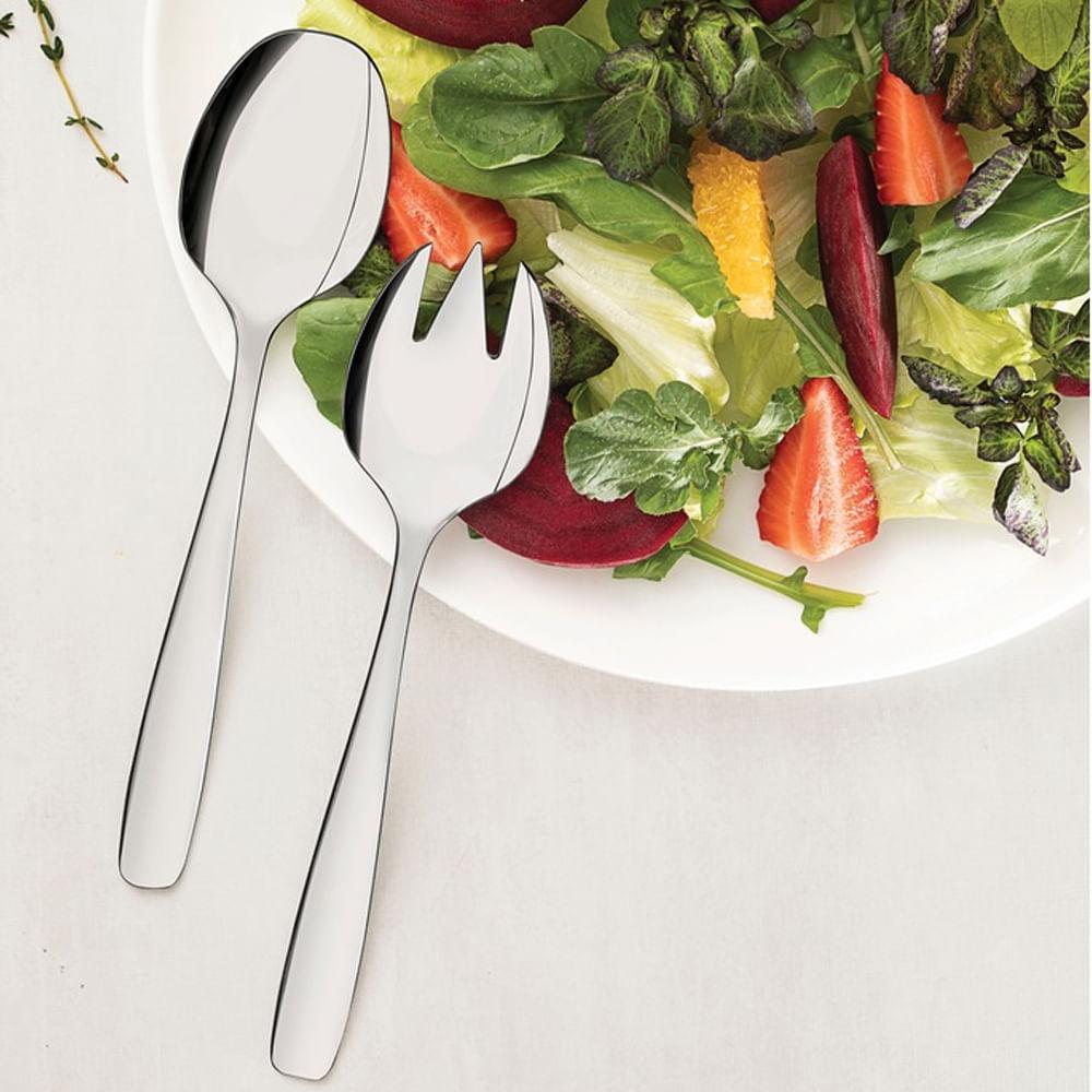 Talher para Salada de Aço Inox Essentials Tramontina 2PÇS