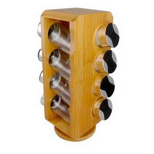 Porta-Condimento-Dynasty-Bambu-Vidro-8PCS---33250