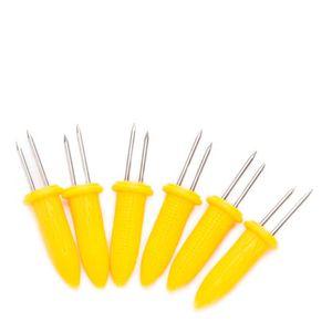 Garfinho-para-Milho-Fackelmann-Amarelo-6PCS---33053