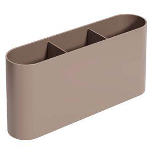 Porta-Talher-Coza-Flat-Warm-Gray-23CM---33384