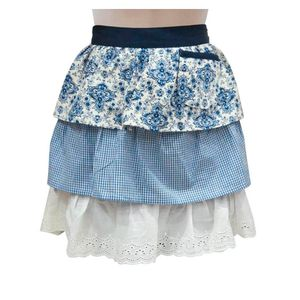 Avental-Saia-Floral-Azul-Algodao-45X50CM---32577