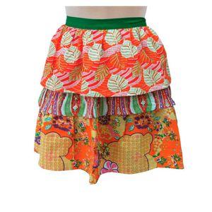 Avental-Saia-Floral-Laranja-Algodao-53X56CM---32578