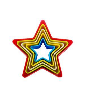 Cortador-de-Biscoito-Estrela-Color-5PCS---33745