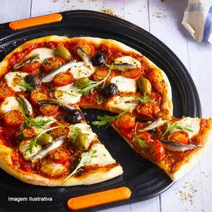 Forma-de-Pizza-Le-Creuset-Antiaderente-Preto-33CM---33865