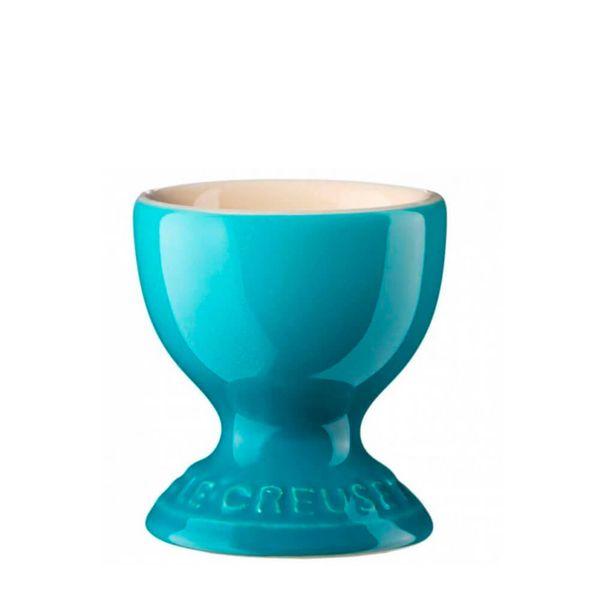 Porta-Ovo-Le-Creuset-Ceramica-Azul-Caribe-5CM---34152