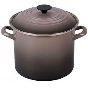 Caldeirao-Le-Creuset-Stock-Pot-Esmaltado-Flint-26CM---33840