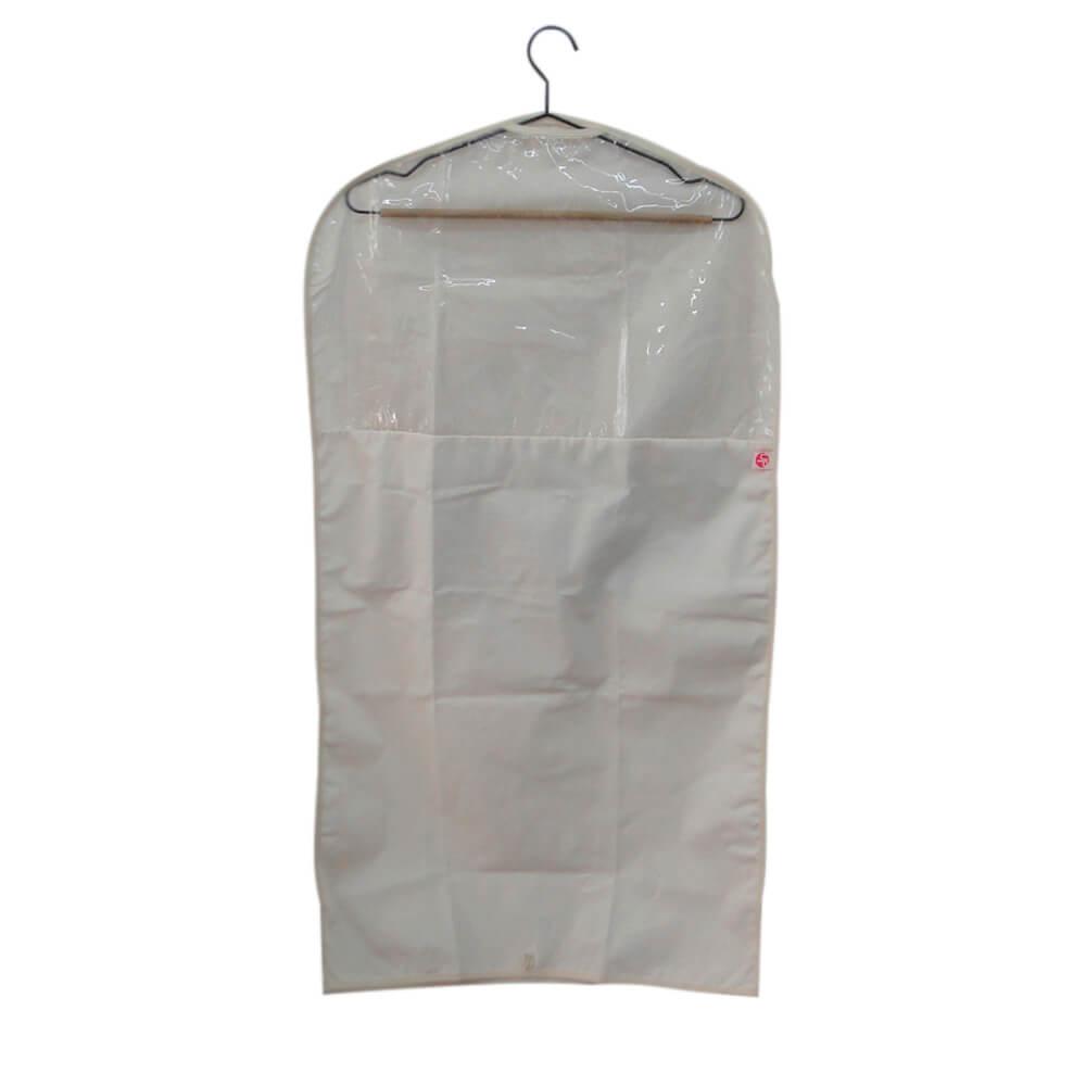 Capa Protetora para Vestido UP Algodão Cru 98X53CM