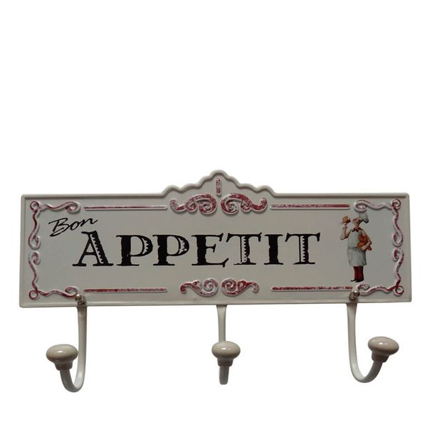 Cabideiro-de-Metal-Appetit-13X36CM---34484