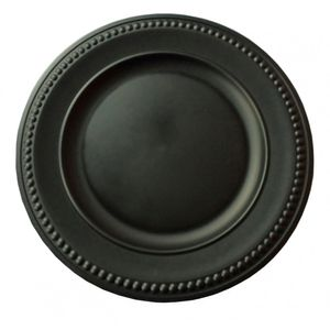 Sousplat-Preto-Fosco-38CM---34483