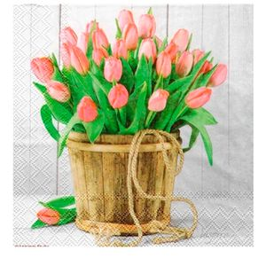 Guardanapo-de-Papel-Tulips-Bucket-20PCS-33CM---34628