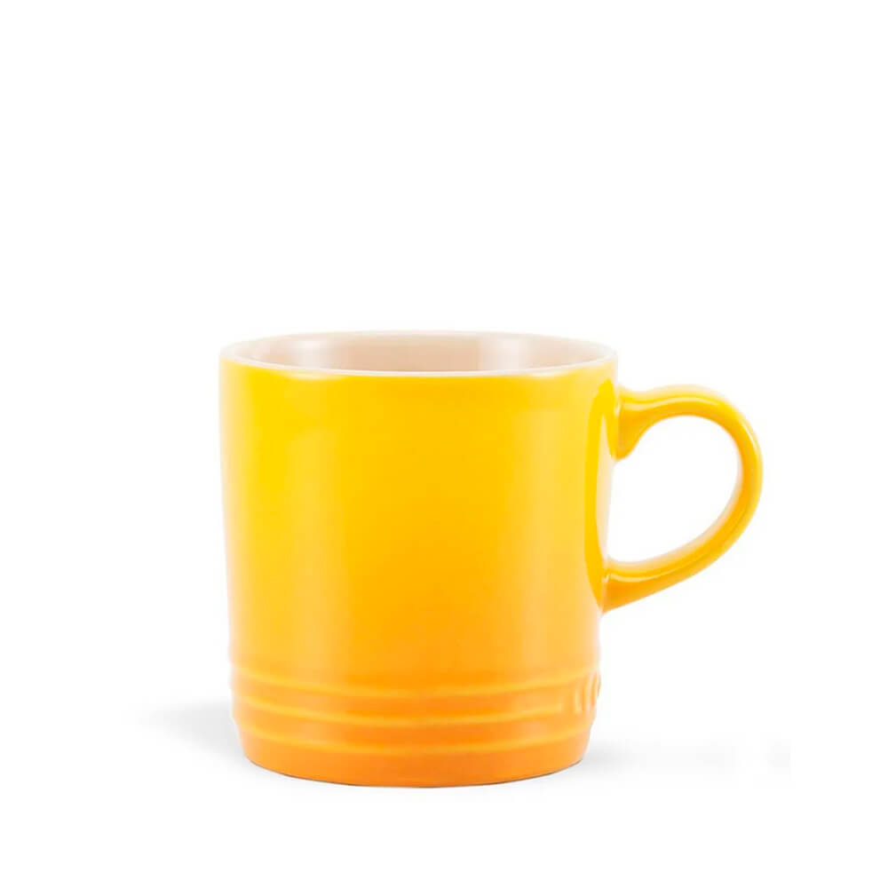Caneca de Cerâmica Cappuccino Le Creuset Amarelo Soleil 200ML