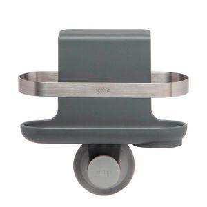 Porta-Esponja-de-Plastico-Holster-Umbra-Cinza-8X14CM