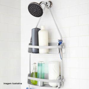 Porta-Shampoo-Flexivel-para-Chuveiro-Umbra-Branco-8X30X64CM